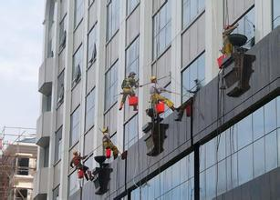 深圳玻璃幕墙清洗,铝塑板清洗